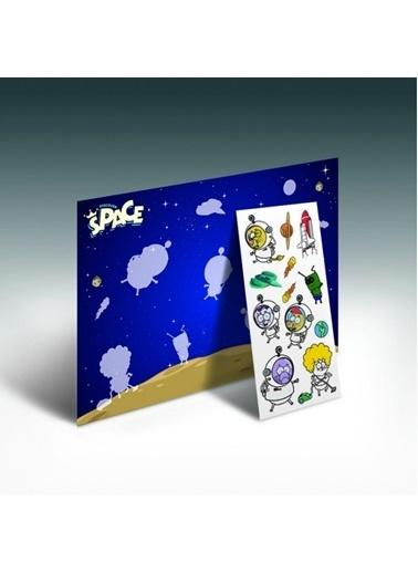 Kral Şakir Kral Şakir Uzayda Bul Yapıştır Eğitici Oyunu Renkli